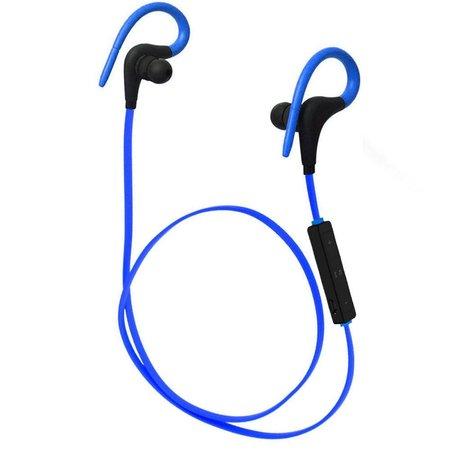 Q10 Bluetooth Sport Oordopjes met Afstandsbediening - Blauw