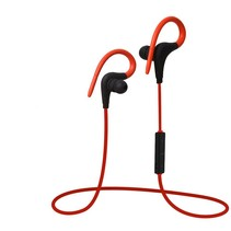 Q10 Bluetooth Sport Oordopjes - Rood