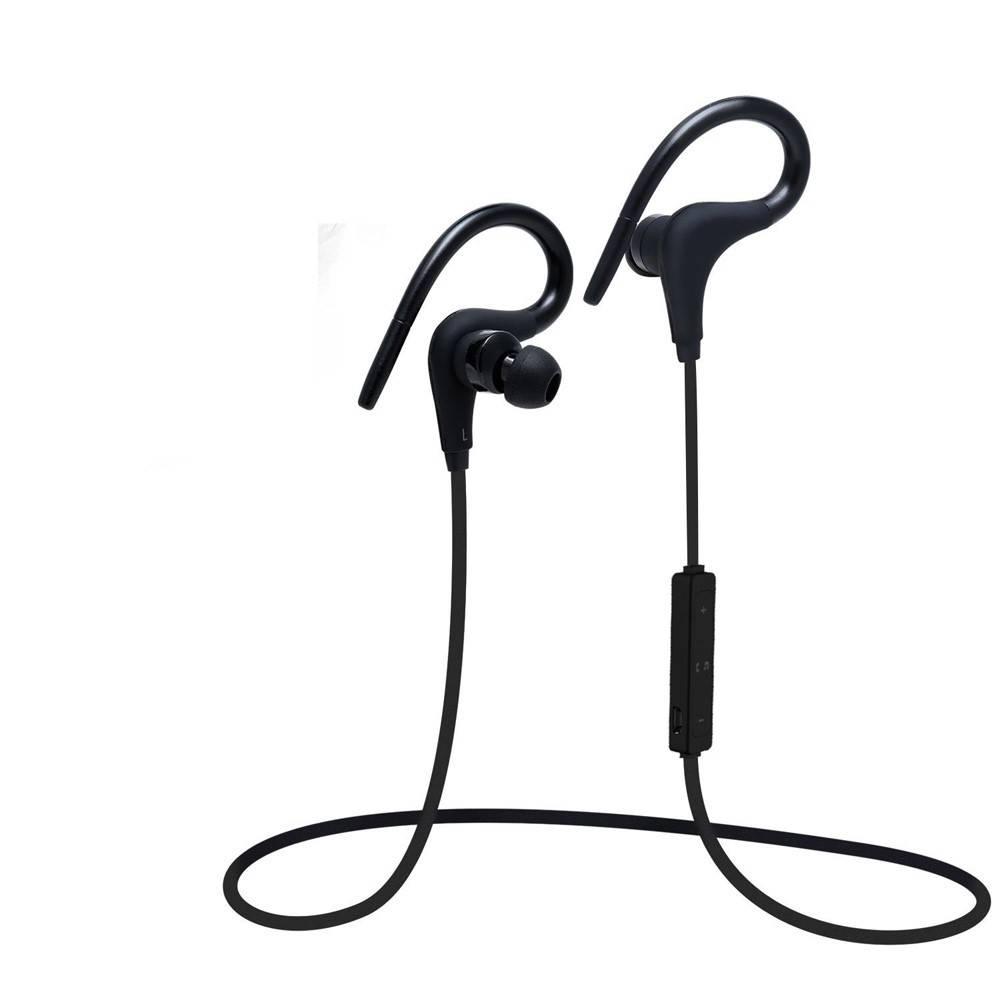 Q10 Bluetooth Sport Oordopjes met Afstandsbediening - Zwart