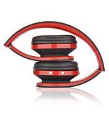NX-8252 Opvouwbare Bluetooth Over-ear Koptelefoon - Rood