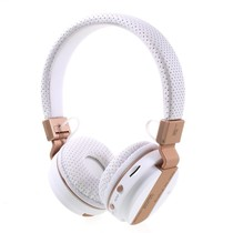 JKR-209B Bluetooth Over-ear Koptelefoon - Wit / Goud