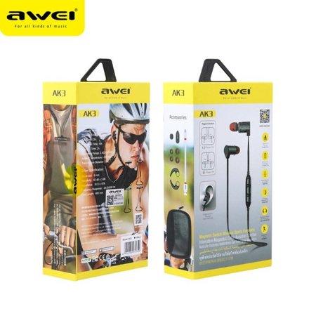 AWEI AWEI AK3 Sport Bluetooth Headphones - Goud