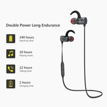 AK7 Intelligent Control Bluetooth Headset - Grijs