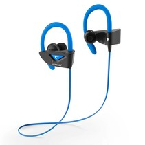 V8 Bluetooth Sport Headphones - Blauw