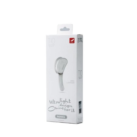 REMAX REMAX T10 Single In-ear Bluetooth 4.1 Headset - Wit