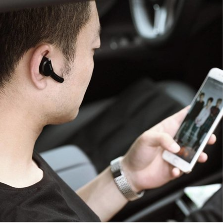 REMAX REMAX T10 Single In-ear Bluetooth 4.1 Headset - Zwart