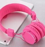 ROMIX ROMIX X1 Bluetooth Koptelefoon - Roze
