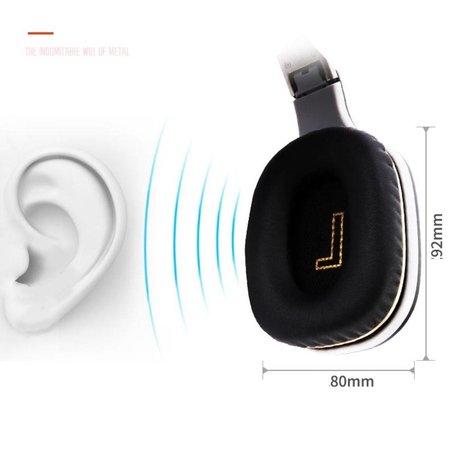 Opvouwbare Over-Ear Bluetooth Koptelefoon - Wit