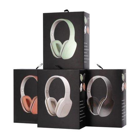 Opvouwbare Over-Ear Bluetooth Koptelefoon - Zwart