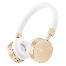 P10 Bluetooth On-Ear Koptelefoon - Wit / Goud
