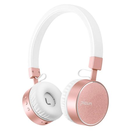 PICUN PICUN P10 Bluetooth On-Ear Koptelefoon - Wit / Rosé Goud