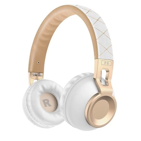 PICUN PICUN P8 Over-ear Bluetooth Hoofdtelefoon - Wit / Goud
