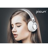PICUN PICUN P8 Over-ear Bluetooth Hoofdtelefoon - Grijs / Zilver