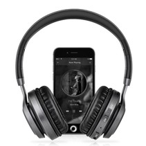 BT08 Over-ear Bluetooth Koptelefoon - Zwart