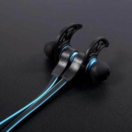 AMW-50S Magneet Bluetooth Headset - Blauw