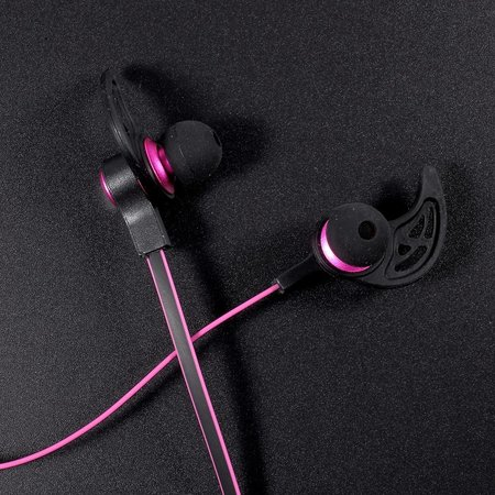 AMW-50S Magneet Bluetooth Headset - Roze