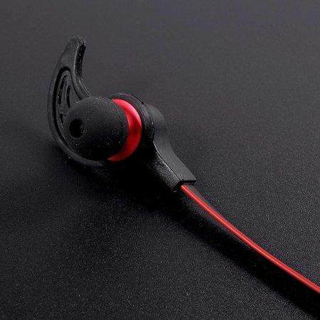 AMW-50S Magneet Bluetooth Headset - Rood