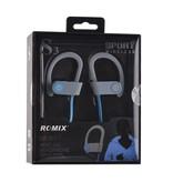 ROMIX ROMIX Sport Bluetooth 4.1 In-Ear Oordopjes - Grijs / Blauw