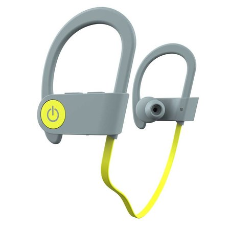 ROMIX ROMIX Sport Bluetooth 4.1 In-Ear Oordopjes - Grijs / Geel