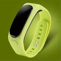 2-In-1 OLED Smart Polsband + Bluetooth Headset - Groen