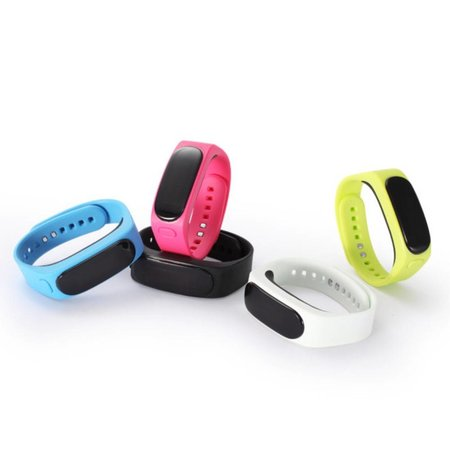 iTalk iTalk 2-In-1 OLED Smart Polsband + Bluetooth Headset - Roze
