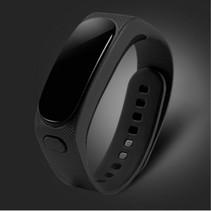 2-In-1 OLED Smart Polsband + Bluetooth Headset - Zwart