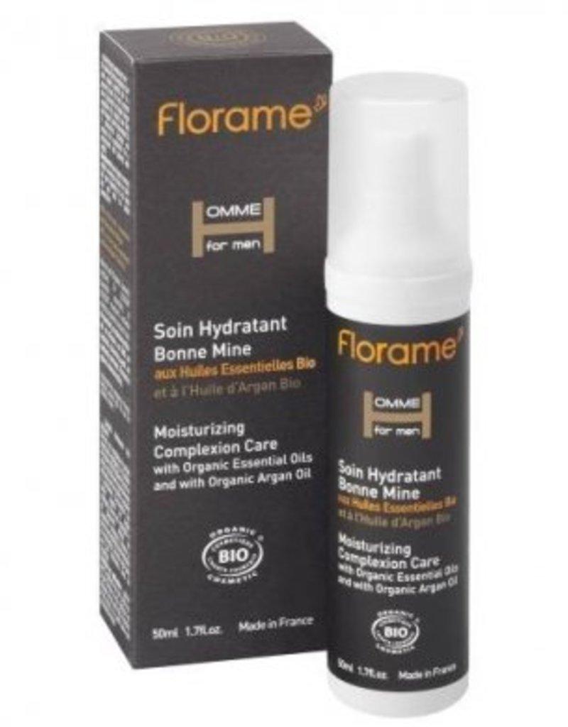 Florame Homme for Men Soin Hydratant Bonne Mine