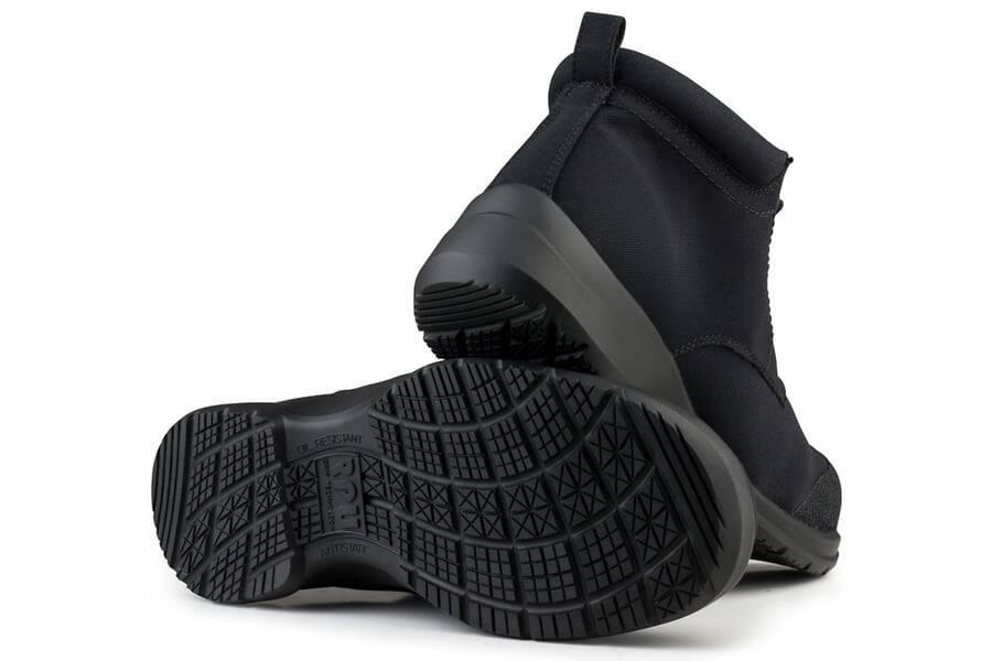 Eco Vegan Shoes Easy Walker Advanced S3 Black