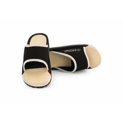 Houten slippers Maxi zwart