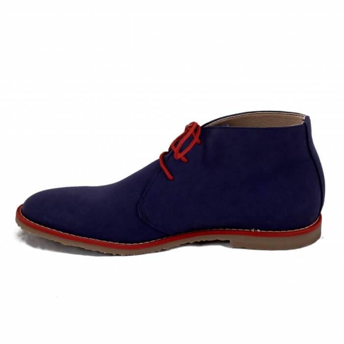NAE vegan shoes Vegan Herenschoen Lagos Blue