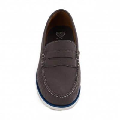 NAE vegan shoes Instapper Heren Lima Grey