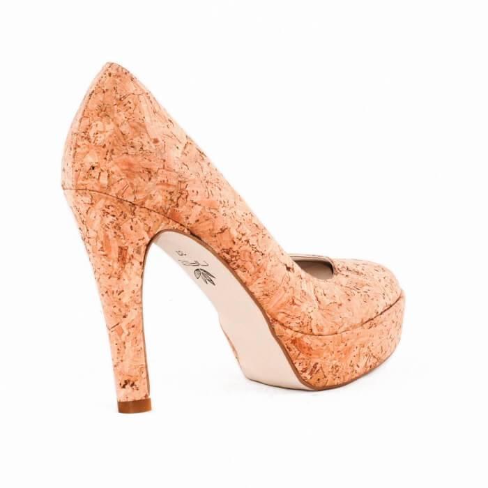 NAE vegan shoes Pump Cork
