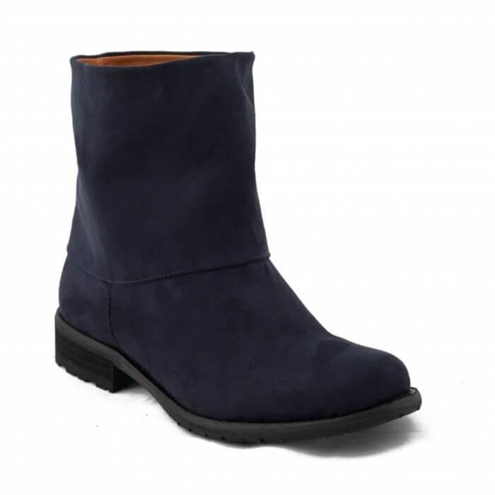 NAE vegan shoes Vegan Enkellaars Mira Blue