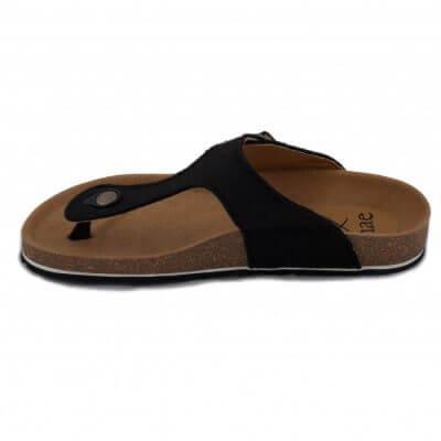 NAE vegan shoes Slipper Kos | PET Black