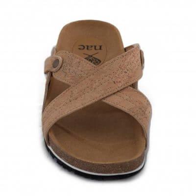 NAE vegan shoes Slipper Paxos Cork