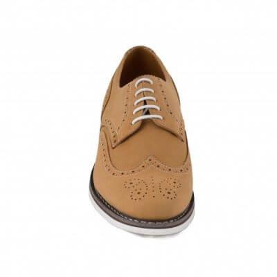 NAE vegan shoes Herenschoen Lito Camel