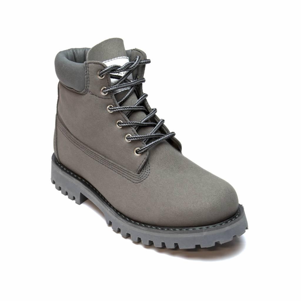 NAE vegan shoes Vegan Enkellaars Etna Grey