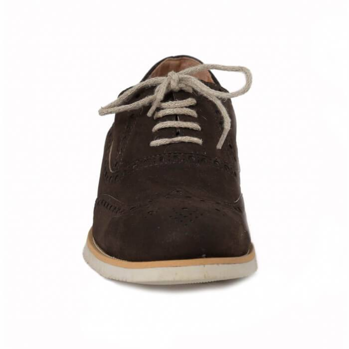 NAE vegan shoes Heren Veterschoen Urban Brown