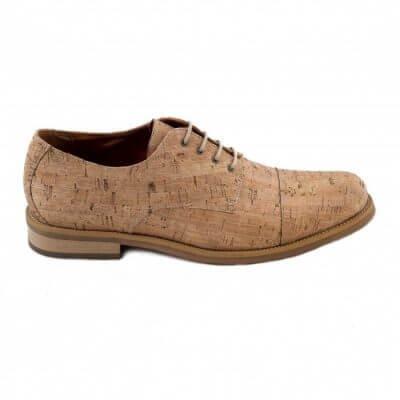 NAE vegan shoes Heren Veterschoen Urban Cork