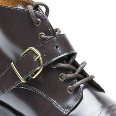 NAE vegan shoes Enkellaars Luce Brown