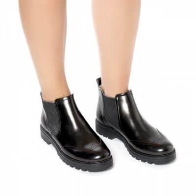NAE vegan shoes Enkellaarsjes Kala