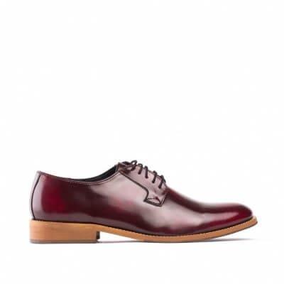 NAE vegan shoes Veterschoen Justin Bordeaux