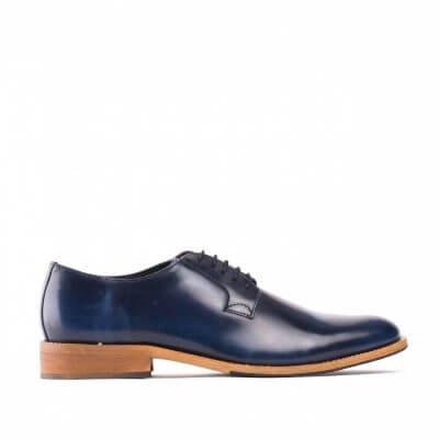 NAE vegan shoes Veterschoen Justin Blue