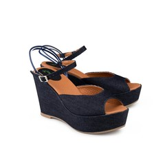 Sandaal Victoria Wedge Jeans