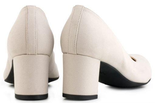 Eco Vegan Shoes Vegan pump Anna Grijs