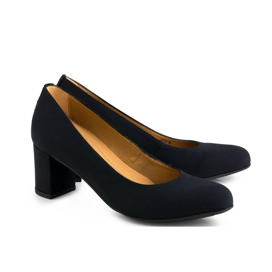 Eco Vegan Shoes Vegan Pumps Anna Black