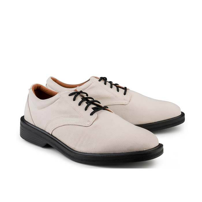 Eco Vegan Shoes London Walker Grey