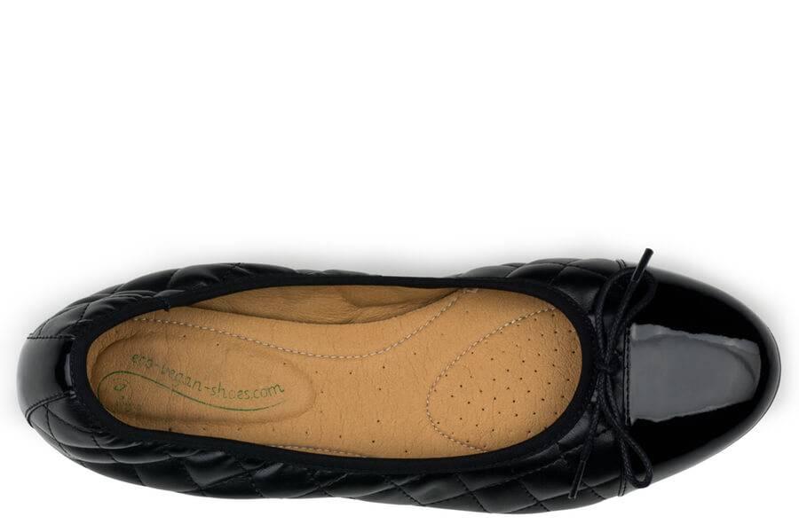 Eco Vegan Shoes Suzy Black