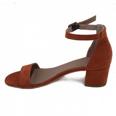 NAE vegan shoes Vegan sandaal Irene Orange