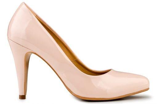 Eco Vegan Shoes Estelle Nude